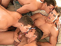 Jean-Daniel, Kris Evans, Rhys Jagger and Julien Hussey